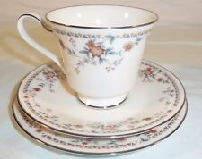 Noritake Adagio 7237 - Teacup, Saucer, Bread & Butter Plate Beautiful Condition!