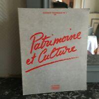 Cartellina Tecnica Heritage E Cultura N° 1 Rivista Monumenti Storici 1982