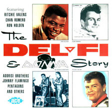The Del-Fi & Donna Story CHAN ROMERO RITCHIE VALENS RON HOLDEN DICK DALE ACE CD