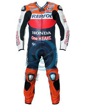 Honda Repsol Motorcycle Motorbike Leather Racing Suit