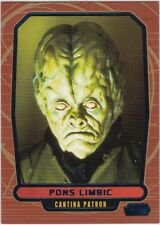 STAR WARS GALACTIC FILES SERIES 2 BLUE PARALLEL #360 PONS LIMBIC 286/350
