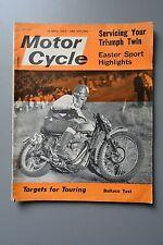 R&L Mag: Motor Cycle 18 April 1963 Bultaco Metralla 200/Triumph 650 Service