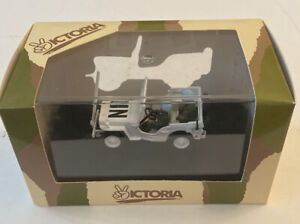 1/43 Willys Jeep Lebanon 1978 UNITED NATIONS DieCast Model