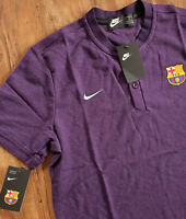 Nike Performance FC Barcelona T-Shirt Herren Polohemd Lila  L Barca 892335-524