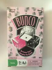 BUNCO Dice GAME Cardinal 2005 Pink Ribbon Breast Cancer Edition New