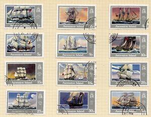 Ascension fine used 1986 set of Royal Navy ships