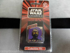 Star Wars Episode 1 Cloisonne Pin C-3Po unopened package-New
