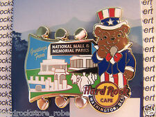 2015 HARD ROCK WASHINGTON DC MEMORIAL PARKS-MALL/NATIONAL PARK BEAR SERIES PIN