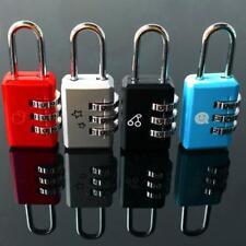 3-stellige Kombination Koffer Gepäck Metall Passwortsperre Vorhängeschlösser Far