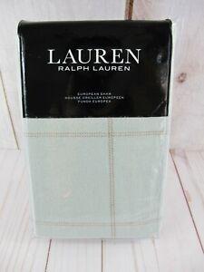 Lauren Ralph Lauren Julianne European Sham Sage $135 ~ NEW
