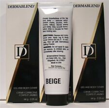 Dermablend Leg And Body Cover Color: Beige Creme Corrective 2.25oz 3 Pieces