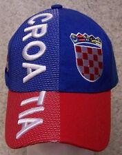 Embroidered Baseball Cap International Croatia NEW 1 hat size fits all