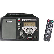 TECSUN S-8800 Metal Receiver HF SSB Portable With Radio Control 330013
