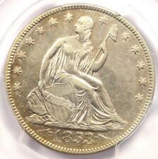 1853 Arrows & Rays Seated Liberty Half Dollar 50C - Certified PCGS XF45 (EF45)!