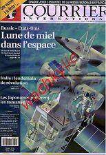 Courrier international 130 29/04/1993 Espace Inmarsat