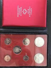 1972 Royal Canadian Mint - 7 coin Special Mint Set - Original Box - Monnai Royal