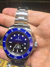 Rolex Mens Deepsea Watch In Steel, With Blue/Black Dial & Blue Bezel, 116660