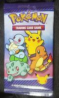 (x3) 2021 Pokemon Cards McDonalds Happy Meal Packs 25th Pokemon Anniversary (x3)