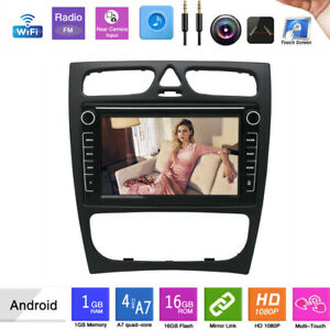 Fit Mercedes-Benz W203 W209 W463 Stereo Radio 9'' Android 10. GPS Navigation