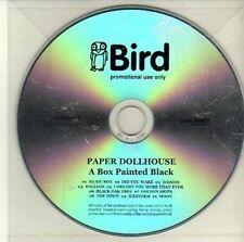 (CI777) Paper Dollhouse, A Box Painted Black - DJ CD