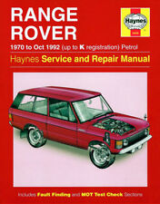 NEW HAYNES WORKSHOP SERVICE REPAIR MANUAL BOOK RANGE ROVER PETROL V8 1970-1992