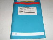 Werkstatthandbuch VW Polo Classic / Caddy Simos Einspritzanlage ab 1996