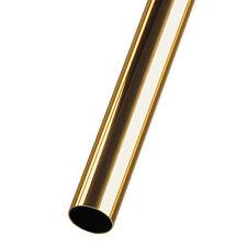 """K & S 8136  Round Brass Tube (1 piece) 13/32"""" Dia x 0.014"""" Walls x 12"""" Long 1st"""