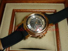 Breguet Marine Automatic Big Date 39mm Rose Gold Black Rubber Band 5817BR/Z2/5V8