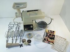 Vintage Oster Regency Kitchen Center With Meat Grinder 971-06A 450W Cream