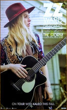 ZZ WARD The Storm 2017 Ltd Ed New RARE Poster +FREE Rock Soul Pop Poster!