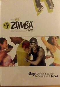 ZUMBA FITNESS Latin Workout Routine 4 Volume DVD Set English & Spanish NEW fr/sh