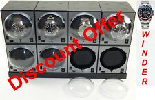 BOXY Brand Brick Automatic Watch Winder System for eight watches -8E4 Brilliant!