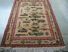 Afghan War Rug (Hand Knotted and Hand made) wool Rug memory of Soviet Union war