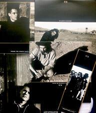 "U2 -The Joshua Tree Singles Remastered And Live- Set Of 4 x 10"" Singles with Obi"