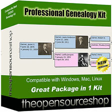Family Tree & Genealogy Software Suite – Create a Family History Map for Your