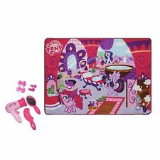 New My Little Pony Ponyville Hair Salon Play Floor Mat Set Figure Collection MLP