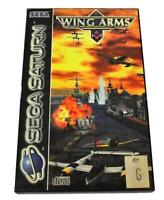 Wing Arms Sega Saturn PAL *Complete*