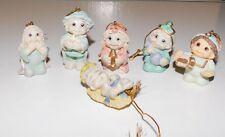 Giftco Dreamsicles 6 Piece Nativity Ornaments Set Figure Figurine