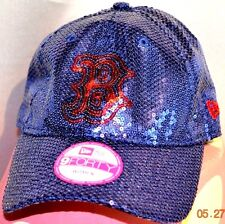 Victorias Secret Pink BOSTON RED SOX Sequins Bling Ball Cap Hat NWT