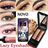 NOVO Shimmer Double Color Women's Fashion Lazy Eyeshadow Smokey Makeup Palette x