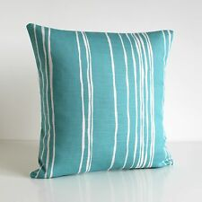 Scandi cushion cover, 18x18, linen cotton, Made in UK #LIOG