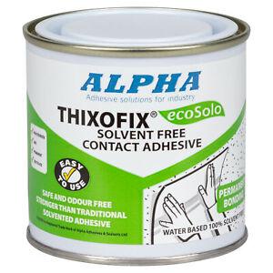 THIXOFIX ECO WATER BASED CONTACT ADHESIVE. Fabrics, foams, woods, polystyrene
