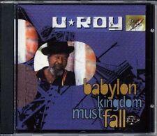 CD Album U Roy Babylon Kingdom Must Fall Reggae Mad Professor DJ New Sealed Hugh