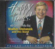 "WALTER OSTANEK  ""Happy Times""  NEW SEALED SLOVENIAN POLKA CD  Grammy Winner !!!"