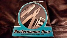 NEW - ELEMENT PERFORMANCE GEAR ACTIVITY KNIFE SET WITH MULTI-TOOL