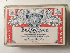 Vintage Budweiser Playing Cards - Full Deck