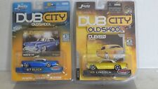DUB CITY OLD SKOOL 57 BUICK & 63 LINCOLN 1/64