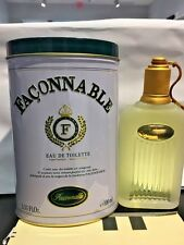Faconnable Men Cologne EDT Spray 3.33 3.4 oz NIB Classic Original Old Packing