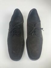 Tod's Mens Suede Leather Size 10 Boat Shoe