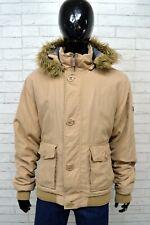 Giubbotto Uomo SLAM Taglia Size XXL Giubbino Giacca Jacket Man Beige  Cappotto 4bf2d527ad7